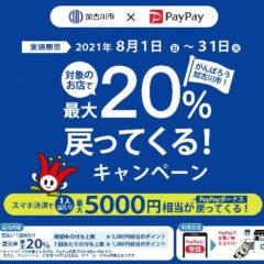 加古川市とPayPayコラボキャンペーン第3弾